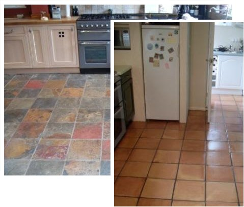 Cleaned Floor Examples