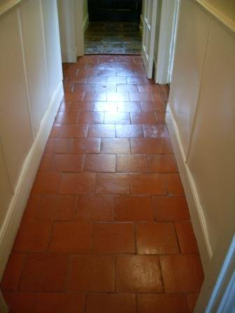 Quarry Tiled Floor After