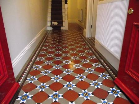 Victorian Floor Hallway After