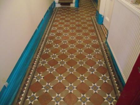 Victorian Floor Hallway Before