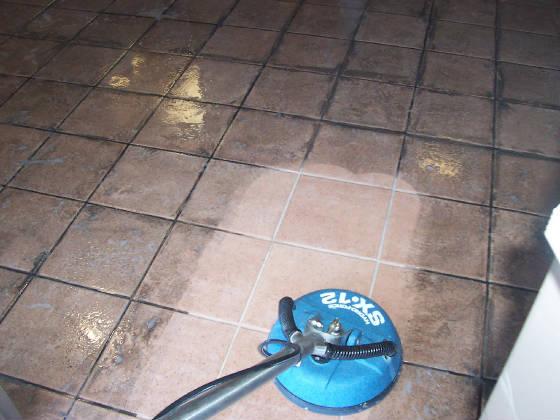 Ceramic Floor Tiles Luton Restaurant Before