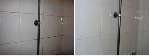 Ceramic Tiled Shower Before And After Leighton Buzzard