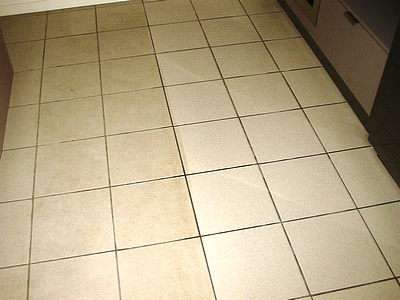 Cleaning Ceramic Kitchen Floor Tiles in Bedford