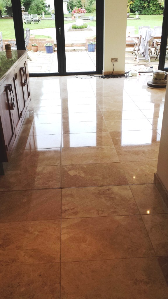 Scratched Marble Floor Olney After