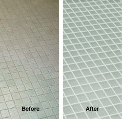 Mosaic Swimming Pool Tile Surround Cleaned near Sandy