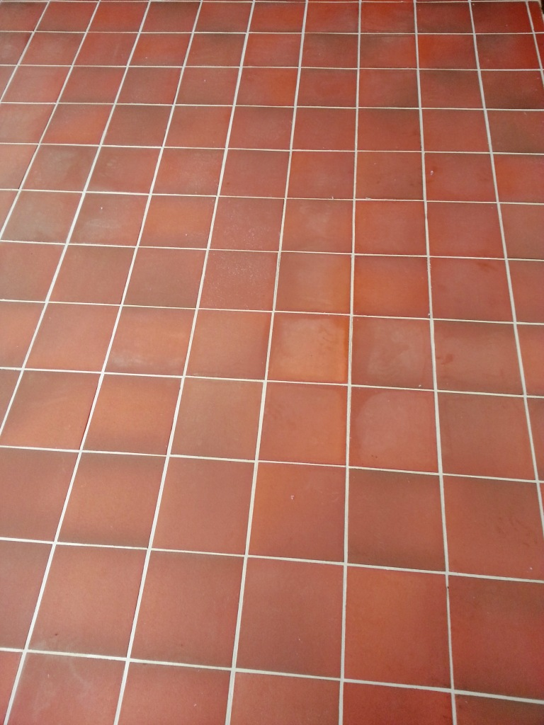 Tile cleaning bedfordshire tile doctor removing grout haze from quarry tiles dunstable dailygadgetfo Choice Image
