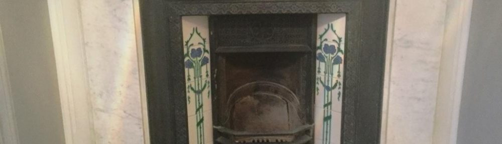Stained and Discoloured Marble Fireplace Rejuvenated in Bedford