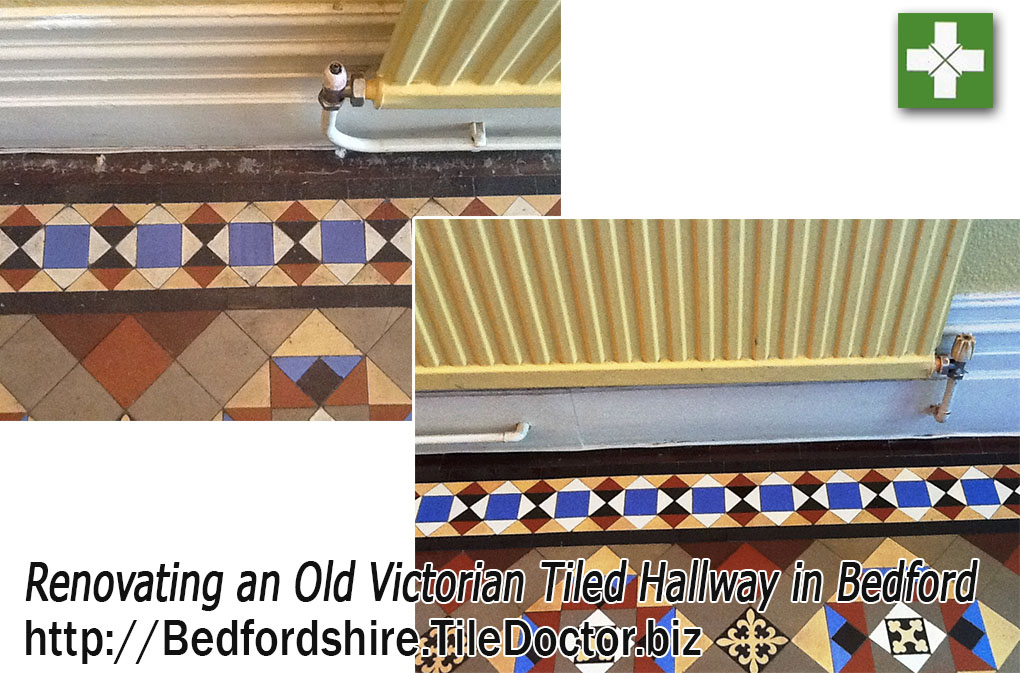 Renovating Old Victorian Hallway Tiles in Bedford