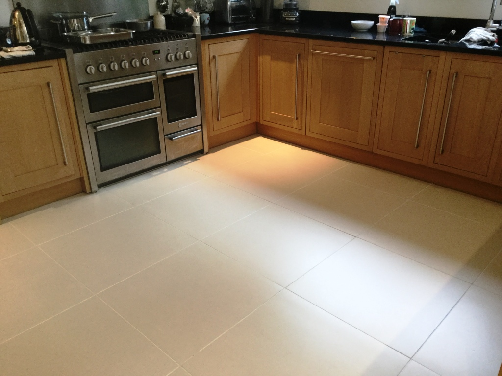 ... Porcelain Floor Tile Grout After Cleaning And Recolouring Studham